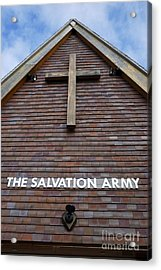 Salvation Acrylic Print by Doug Wilton