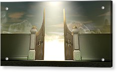 Salvations Open Gates Acrylic Print