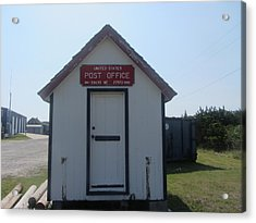 Salvo Post Office Acrylic Print by Cathy Lindsey