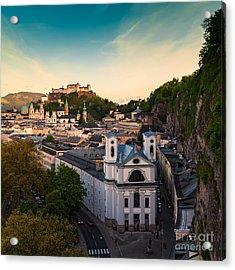 Salzburg 06 Acrylic Print by Tom Uhlenberg