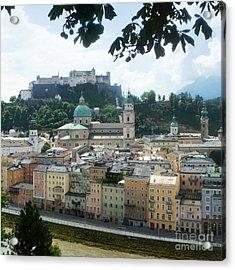 Salzburg Austria Old Town 3 Acrylic Print