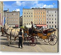 Salzburg Cabbie Acrylic Print