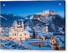 Salzburg Winter Romance Acrylic Print