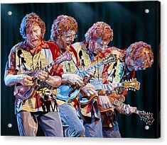 Sam Bush Acrylic Print by Kevin Aita