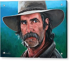 Acrylic Print featuring the painting Sam by Rick McKinney
