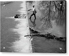 Sam Snead Trout Fishing Acrylic Print
