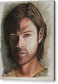 Sam Winchester Acrylic Print