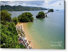 Samana In Dominican Republic Acrylic Print by Jola Martysz