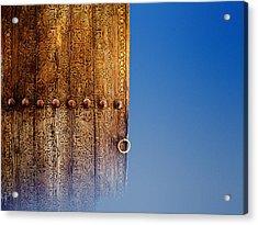 Samarkand Door Acrylic Print