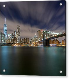 Acrylic Print featuring the photograph Same Bat Time  by Anthony Fields