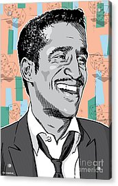 Sammy Davis Jr Pop Art Acrylic Print