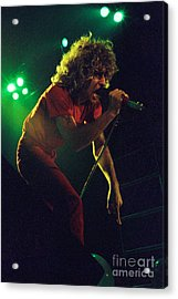 Sammy Hagar New Years Eve At The Cow Palace 12-31-78 Acrylic Print