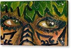 Samoan Eyes Acrylic Print
