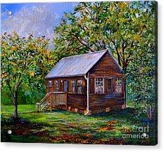 Sams Cabin Acrylic Print