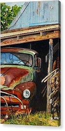 Sams Truck Acrylic Print
