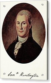 Samuel Huntington (1731-1796) Acrylic Print by Granger