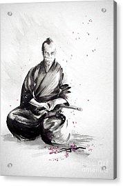 Samurai Warrior Japanese Martial Arts. Bushido. Acrylic Print