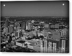 San Antonio - Bw Acrylic Print