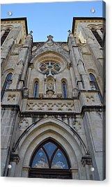 San Antonio Church 02 Acrylic Print by Shawn Marlow
