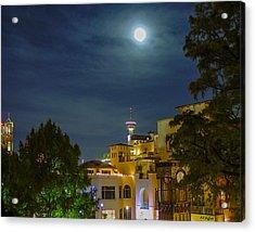 San Antonio Cityscape Acrylic Print