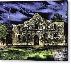 San Antonio E Acrylic Print