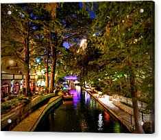 San Antonio Hdr 001 Acrylic Print