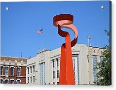 San Antonio Tx Acrylic Print by Shawn Marlow
