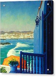 San Bartolo Bay Acrylic Print