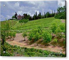 San Casciano In Val Di Pesa- Italy Acrylic Print
