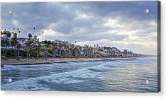 San Clemente Early Morning Acrylic Print by Joan Carroll
