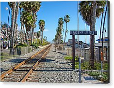 San Clemente  Acrylic Print by Baywest Imaging