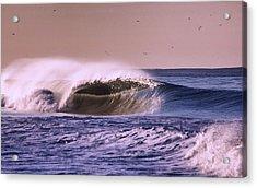San Clemente Wave Acrylic Print by Bob Hasbrook
