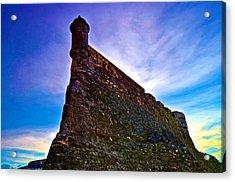 Acrylic Print featuring the photograph San Cristobal Sentry by Ricardo J Ruiz de Porras