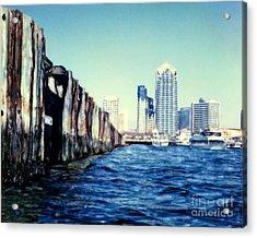 San Diego Broadway Pier Acrylic Print