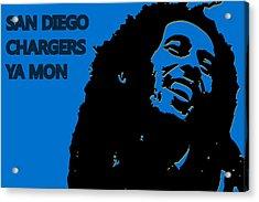 San Diego Chargers Ya Mon Acrylic Print by Joe Hamilton