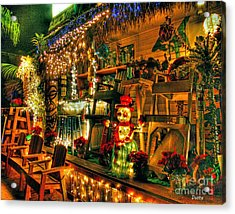 San Diego Christmas Acrylic Print