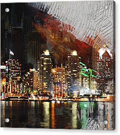San Diego City Collage 3 Acrylic Print