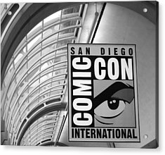 San Diego Comic Con Acrylic Print by Nathan Rupert