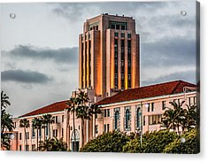 San Diego County Administration Center Acrylic Print