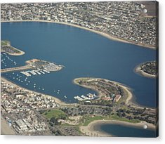 San Diego From Above Acrylic Print