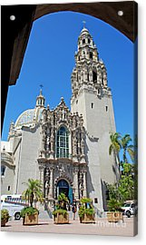 San Diego Museum Of Man Acrylic Print by Claudia Ellis