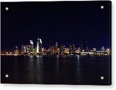 San Diego Night Lights Acrylic Print