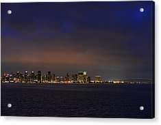 San Diego Night Sky Acrylic Print by Christine Till