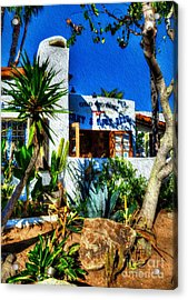San Diego Old Town Colors 3 Acrylic Print