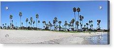 San Diego Panoramic Acrylic Print by Tony Cordoza
