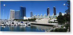 San Diego Panoramic View Acrylic Print by Bedros Awak