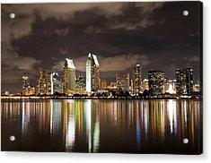Acrylic Print featuring the photograph San Diego Skyline 1 by Lee Kirchhevel