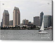 San Diego Skyline 5d24333 Acrylic Print