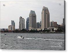 San Diego Skyline 5d24334 Acrylic Print