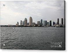 San Diego Skyline 5d24336 Acrylic Print by Wingsdomain Art and Photography
